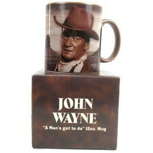John Wayne - Mug - A Man's Got To Do... - In Box